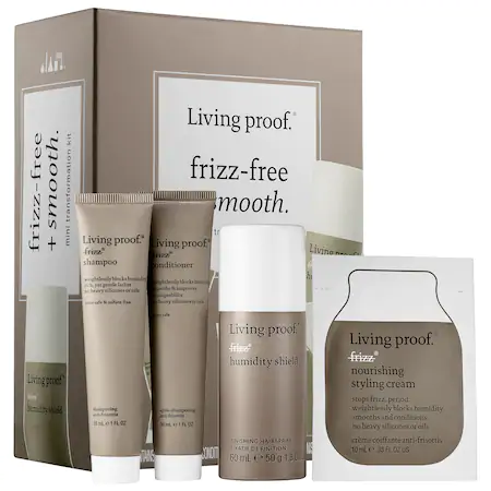 Living Proof Frizz-free + Smooth Mini Transformation Kit