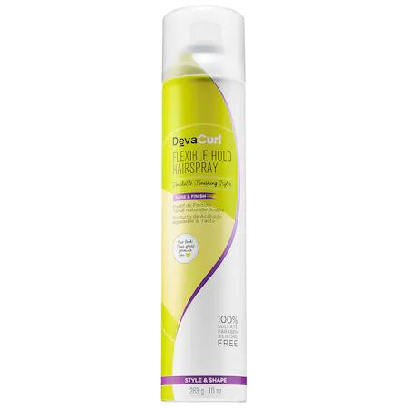 Devacurl Flexible Hold Hairspray Touchable Finishing Styler 10 oz/ 283 G