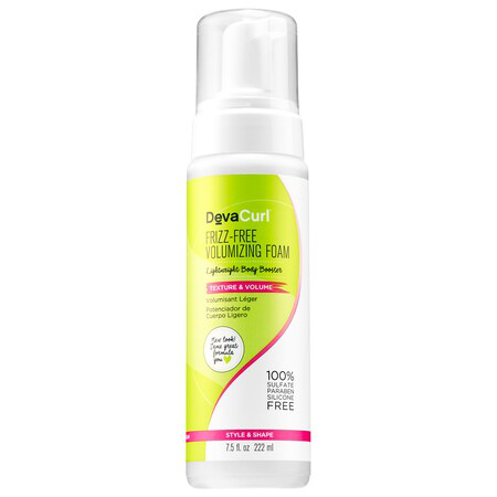 Devacurl Frizz-free Volumizing Foam Lightweight Body Booster 7.5 oz/ 222 ml