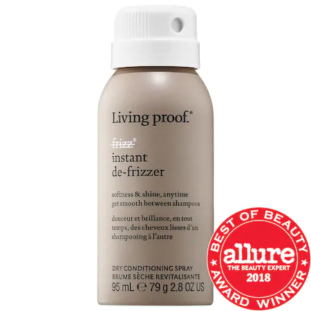 Living Proof No-frizz® Instant De-frizzer Mini 2.8 oz/ 98 ml