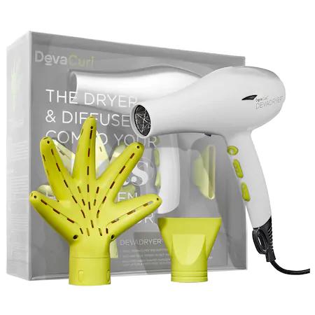 Devacurl Devadryer™ & Devafuser™ Dryer & Diffuser Combo For All Curl Kind