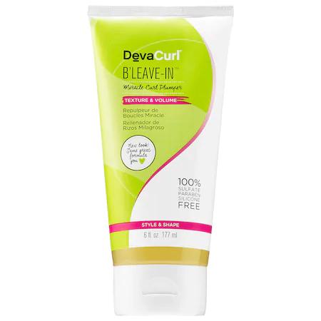 Devacurl B'leave-in™ Miracle Curl Plumper 6 oz/ 177 ml