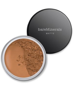 Bareminerals Matte Loose Powder Mineral Foundation Broad Spectrum Spf 15 Golden Deep 28 0.2 oz/ 6 G In Golden Deep 28 - For Dark Skin With Neutral To Warm Undertones