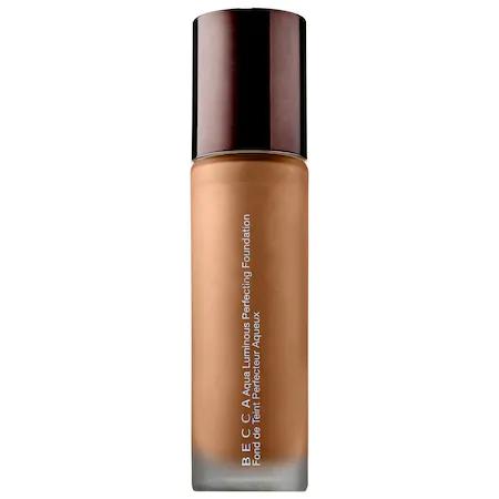 Becca Aqua Luminous Perfecting Foundation Dark Golden 1 oz/ 30 ml