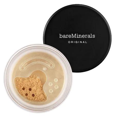 Bareminerals Original Loose Powder Mineral Foundation Broad Spectrum Spf 15 Tan Nude 17 0.28 oz In Tan Nude 17 - For Medium To Tan Skin With Warm Undertones