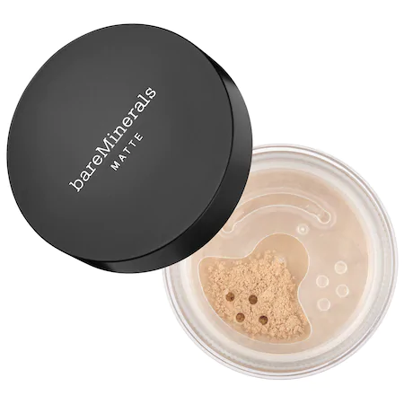 Bareminerals Matte Loose Powder Mineral Foundation Broad Spectrum Spf 15 Fair 01 0.2 oz/ 6 G In Fair 01 - For Fairest Porcelain Skin With Cool Undertones