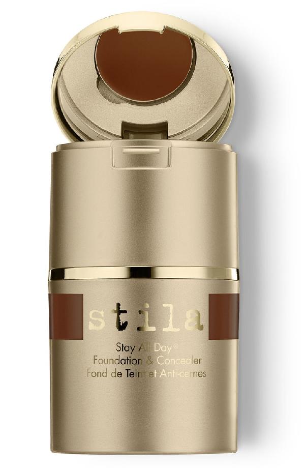 Stila Stay All Day Foundation + Concealer Espresso 15 In Stay Ad Found Conc Espresso 15