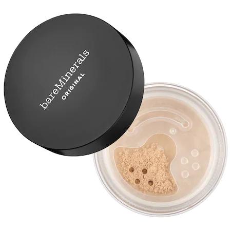 Bareminerals Original Loose Powder Mineral Foundation Broad Spectrum Spf 15 Fair 01 0.28 oz In Fair 01 - For Fairest Porcelain Skin With Cool Undertones