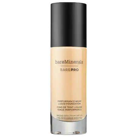Bareminerals Barepro™ Performance Wear Liquid Foundation Broad Spectrum Spf 20 Aspen 04 1 oz/ 30 ml