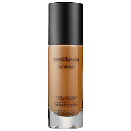 Bareminerals Barepro™ Performance Wear Liquid Foundation Broad Spectrum Spf 20 Truffle 29 1 oz/ 30 ml