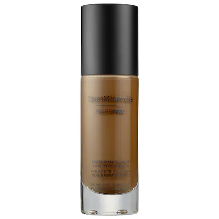 Bareminerals Barepro™ Performance Wear Liquid Foundation Broad Spectrum Spf 20 Cocoa 30 1 oz/ 30 ml