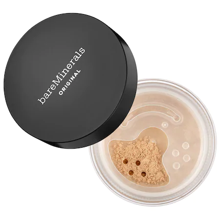 Bareminerals Original Loose Powder Mineral Foundation Broad Spectrum Spf 15 Medium Beige 12 0.28 oz In Medium Beige 12 - For Light To Medium Skin With Neutral Undertones