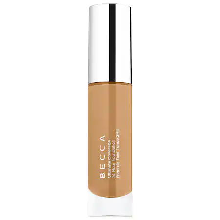 Becca Ultimate Coverage 24 Hour Foundation Olive 3w3 1.01 oz/ 30 ml