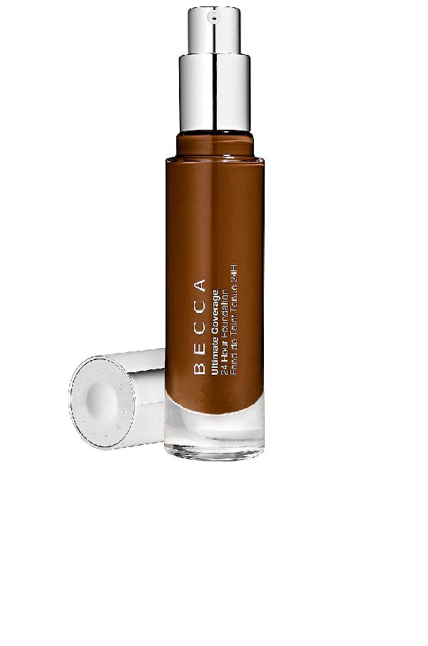 Becca Cosmetics Ultimate Coverage 24 Hour Foundation Mahogany 6c1 1.01 oz/ 30 ml