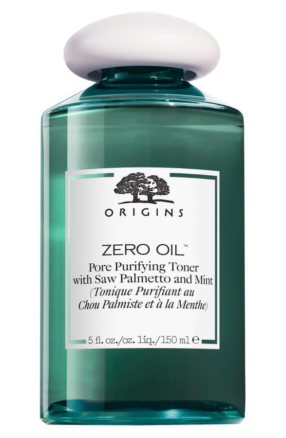 Origins Zero Oil Pore Purifying Toner With Saw Palmetto & Mint, 5 Fl. oz In White