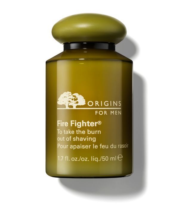 Origins Fire Fighter To Take The Burn Out Of Shaving In White