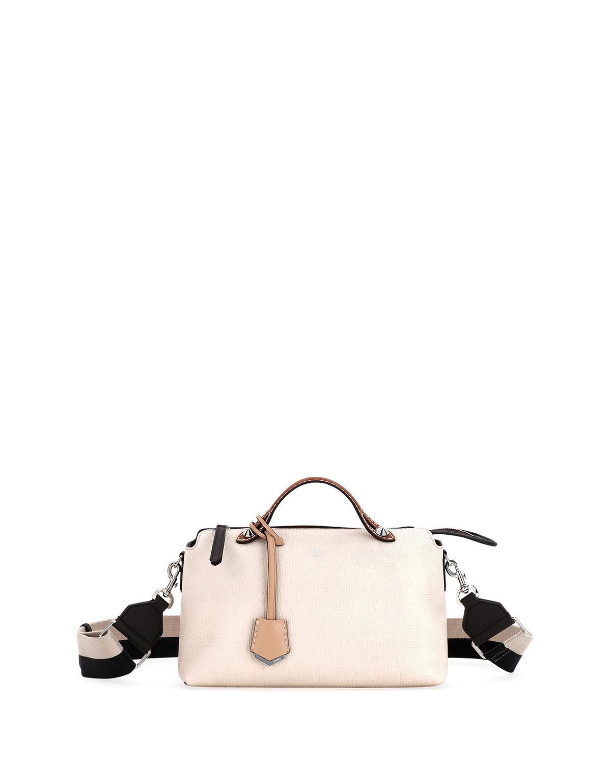 cfd24862640c Fendi By The Way Small Leather Shoulder Bag - Ivory