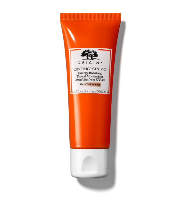 Origins Ginzing™ Spf 40 Energy-boosting Tinted Moisturizer 1.7 oz/ 50 ml In White