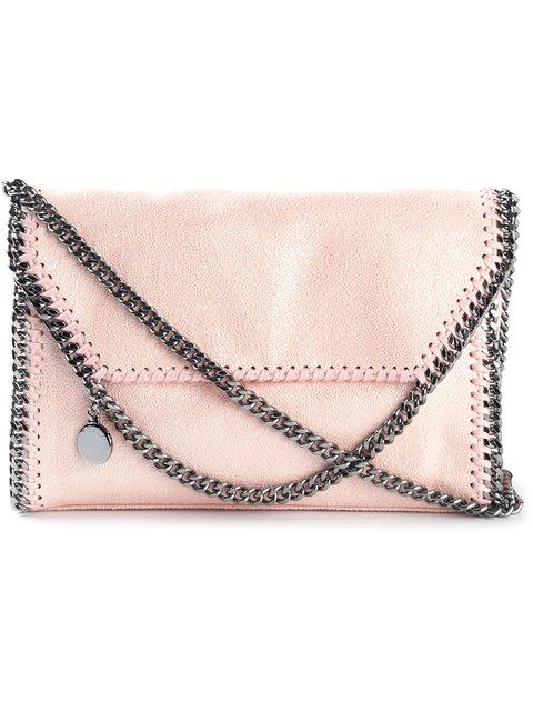 Stella Mccartney 3Chain Falabella Shaggy Faux Deer Bag, Pink