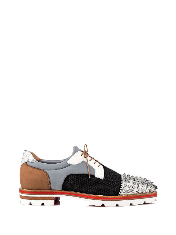 5206a0799f7 Louboutin Luis Specchio Vintage-Rete Net in Version Multi