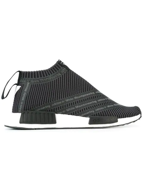 new product e518a 87e7b Adidas Adidas X White Mountaineering 'Nmd City Sock' Sneakers - Grau in Grey