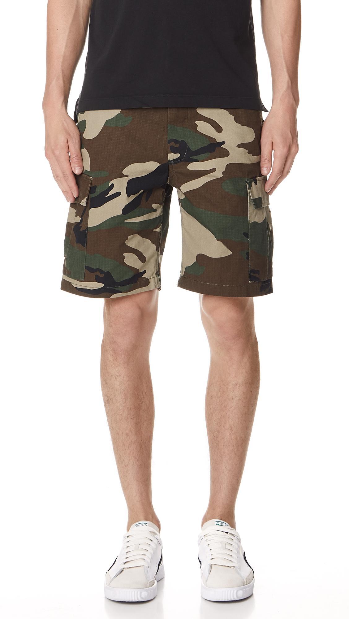 8e23ab5131 Obey Recon Cargo Shorts In Camo | ModeSens