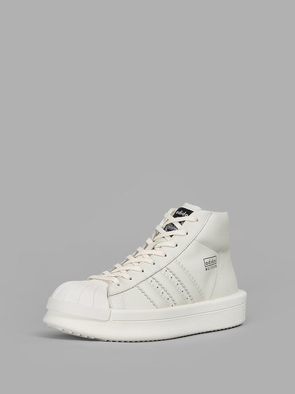0d4570af98d7 Rick Owens X Adidas  Mastodon Pro Model  Hi-Top Sneakers - In Green ...