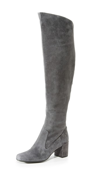 f2ed21f851d Vince  Blythe  Over The Knee Boot (Women) In Pewter