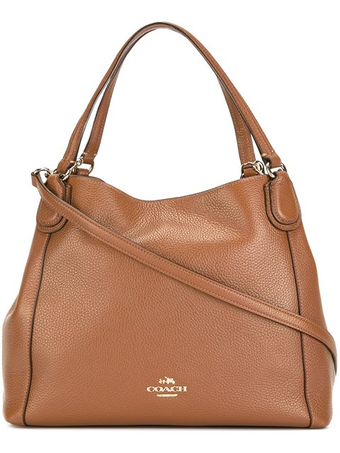 Coach Double Handles Tote - Brown