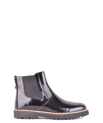 Hogan Women's  Black Leather Ankle Boots