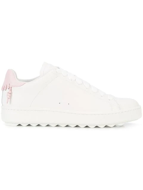 Coach C101 Low Top Sneakers In White