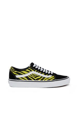 Vans Opening Ceremony Zebra Old Skool Sneaker In Zebra Green