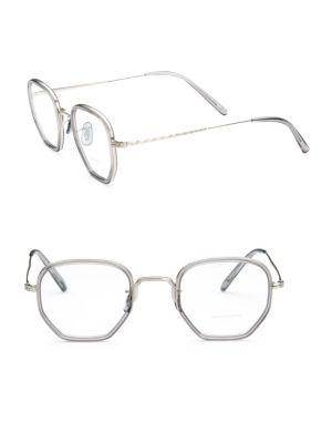 a0993d04aaf Oliver Peoples Workman 46Mm Optical Glasses In Grey