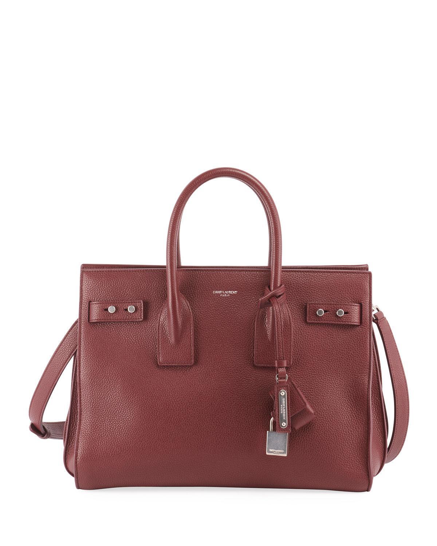 64b0b10fb46 Saint Laurent Sac De Jour Small Supple Leather Bag In Mocha   ModeSens