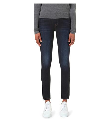 J Brand 811 Covert Skinny Mid-rise Jeans
