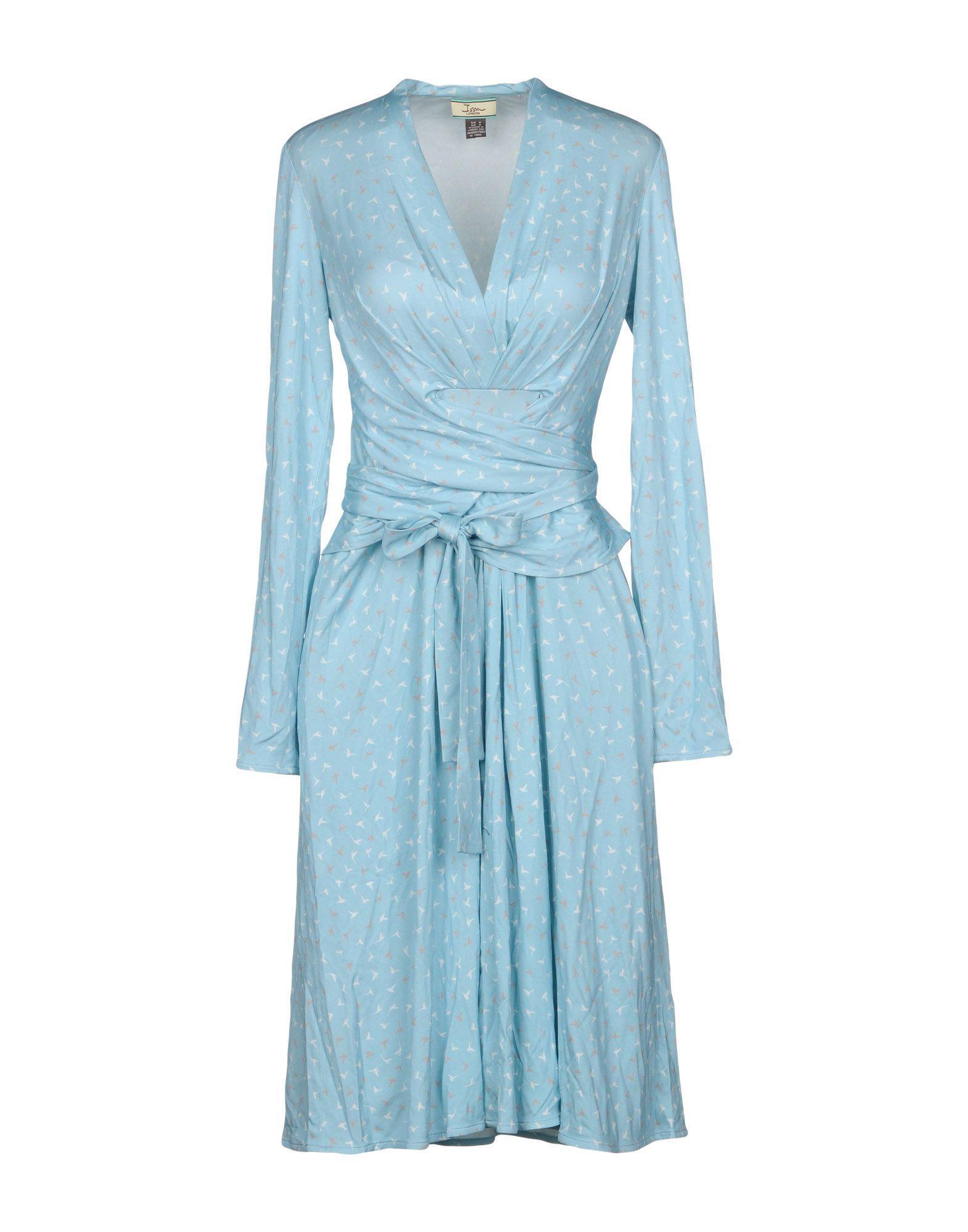 Issa Short Dress In Sky Blue