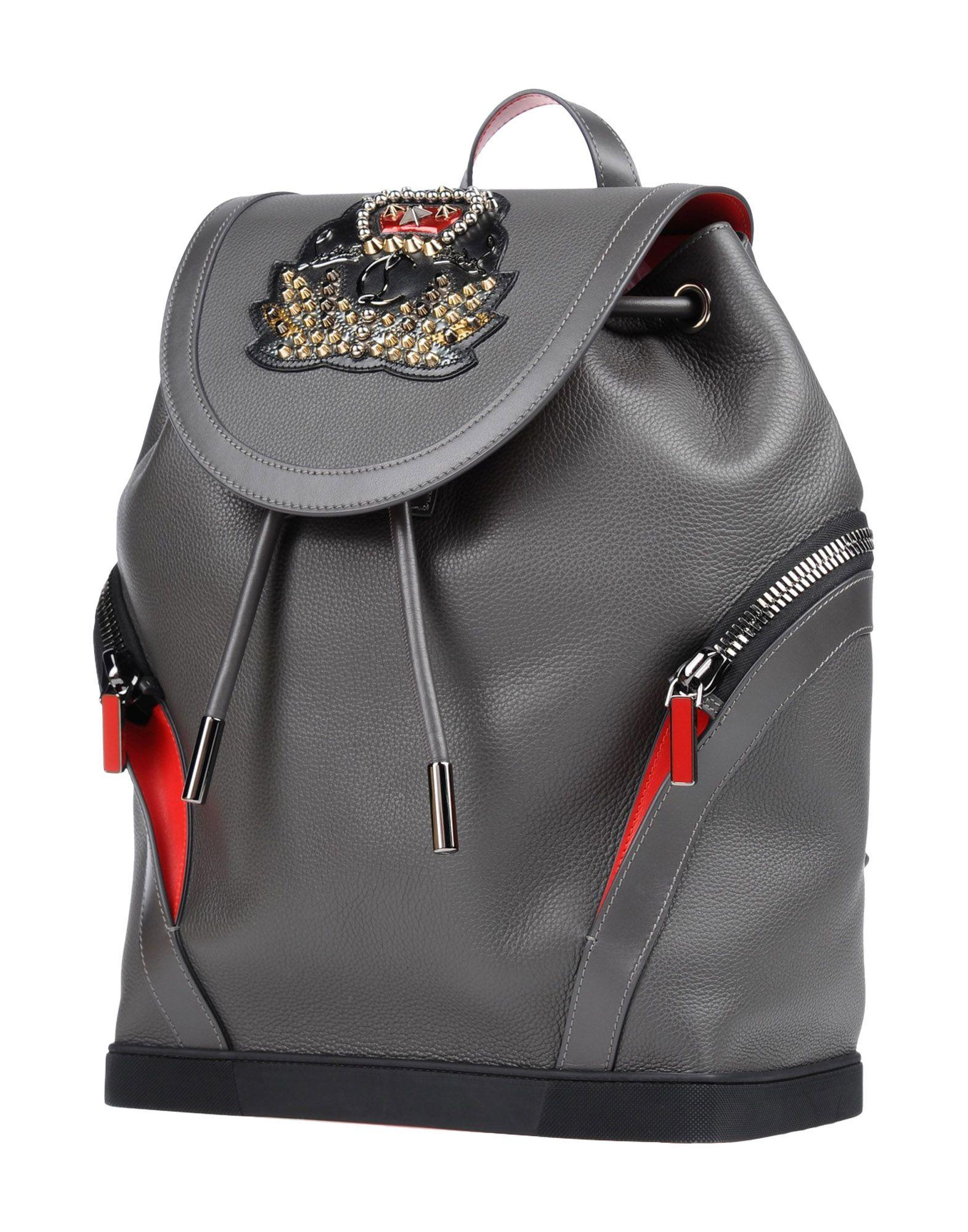 reputable site cd597 88283 Christian Louboutin Backpacks & Fanny Packs In Lead | ModeSens
