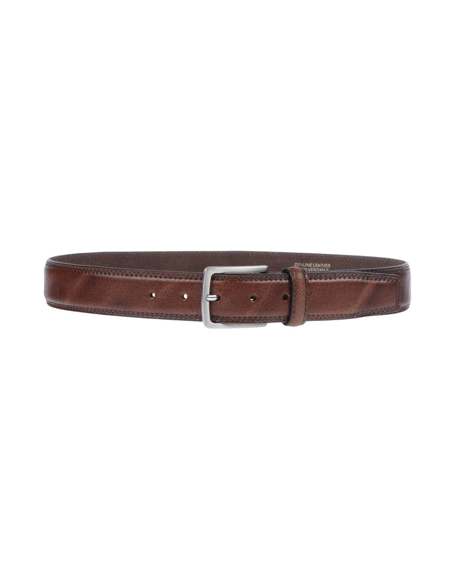 Cantarelli Leather Belt In Brown