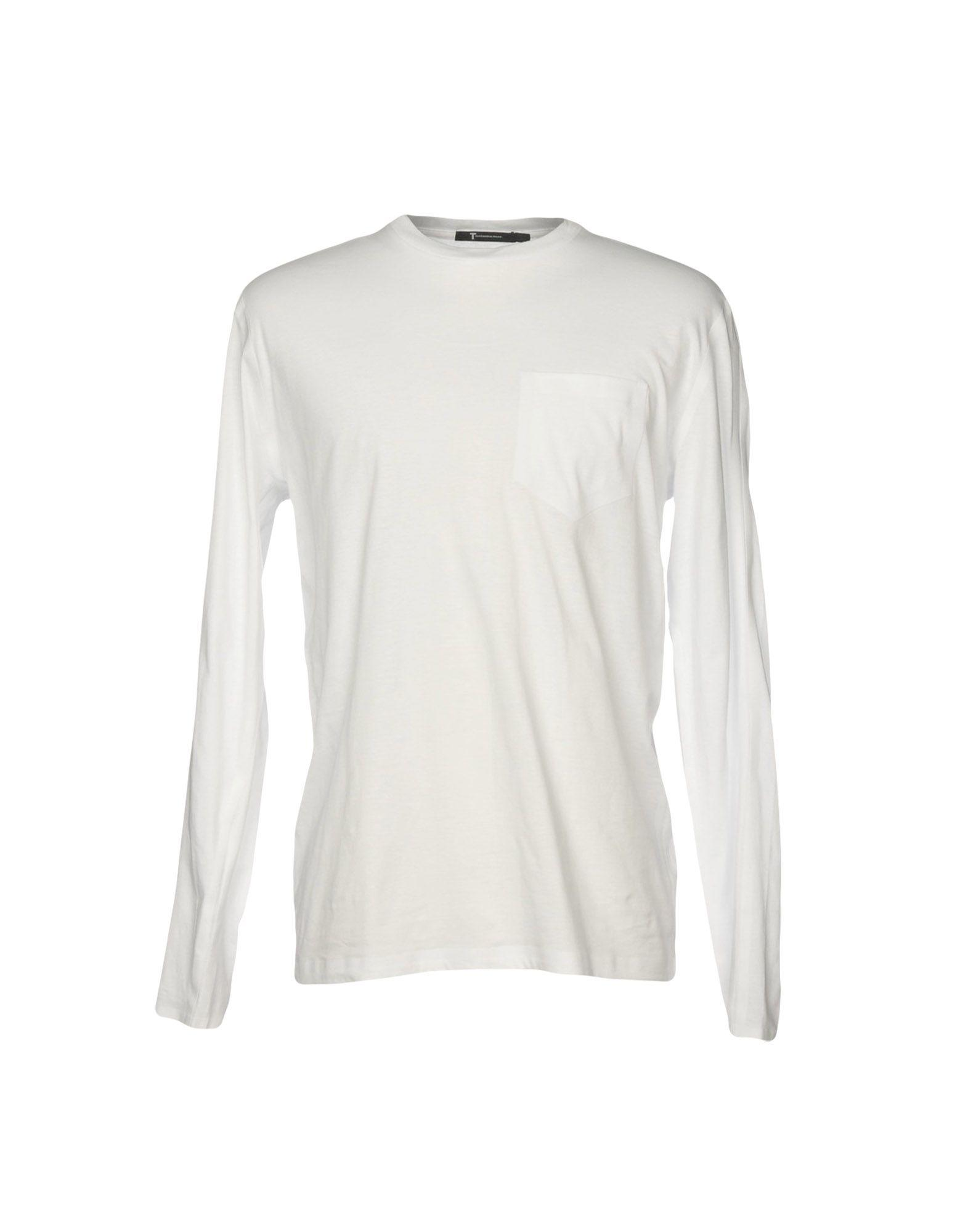 T By Alexander Wang T-Shirt In White