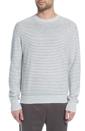 494d74b226 Vince Stripe Long Sleeve Shirt In H White/ Black | ModeSens
