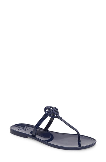30f14d43b Tory Burch Women s Mini Miller Thong Sandals In Bright Indigo