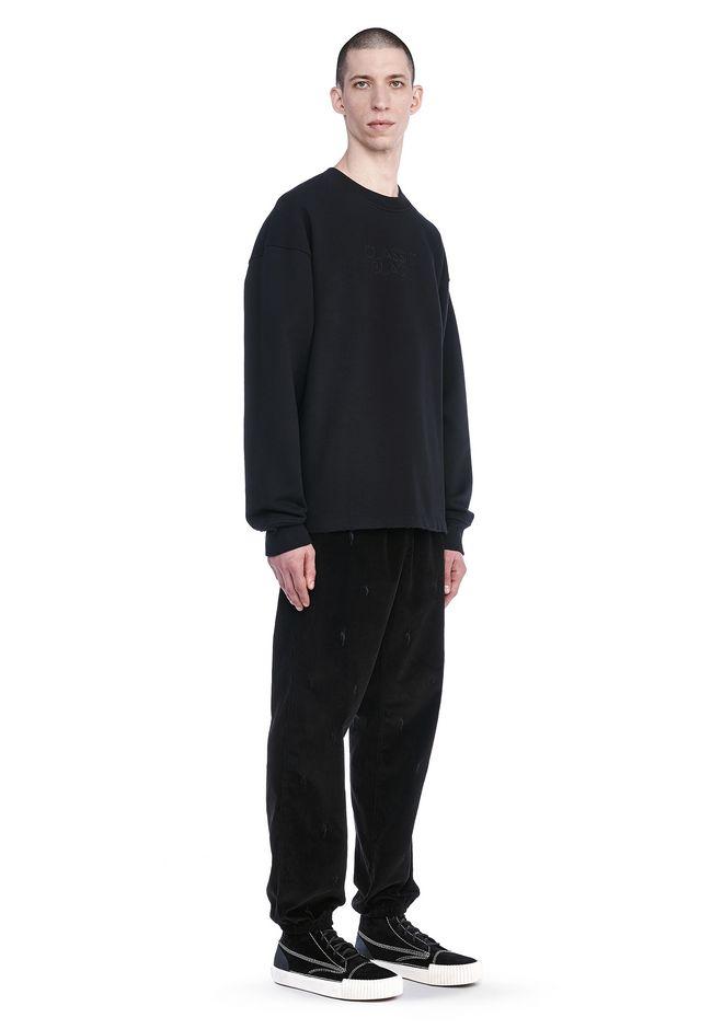 Alexander Wang Classic Black Embroidered Sweatshirt