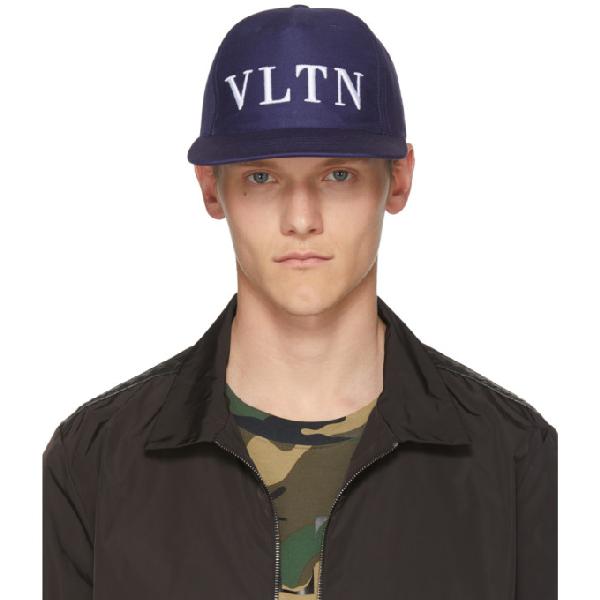 0a410c65 Valentino Garavani Vltn Ball Cap - Blue In M30 Blue   ModeSens