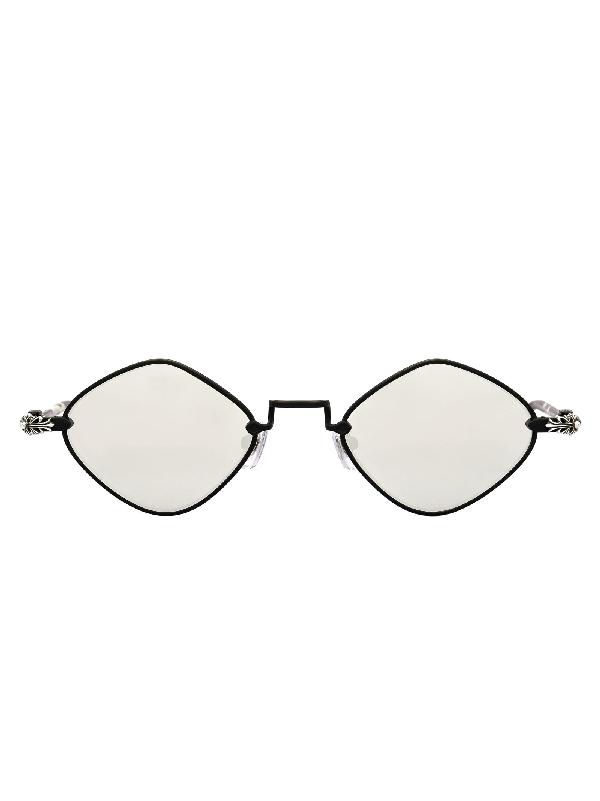 9d33c65af9ab Chrome Hearts Diamond Dog Sunglasses In Mbk Mbsl