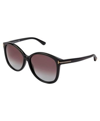 e8e67695378 Oversized sunglasses with gradient lenses and logo plaques on the temples  add 1950s glamour to your look. Style Name  Tom Ford  Alicia  59Mm  Sunglasses.