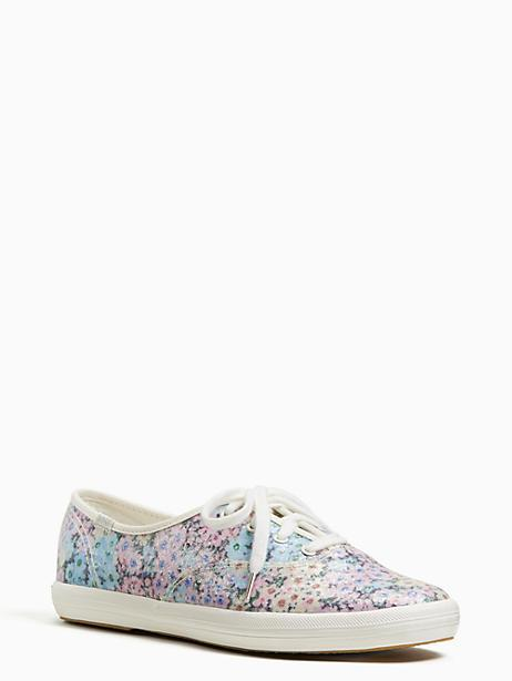 dbfa2efa5f6 Kate Spade Keds X New York Champion Daisy Garden Glitter Sneakers In Blue