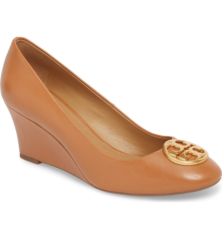 4ed8d008594 Style Name  Tory Burch Chelsea Logo Medallion Wedge (Women). Style Number   5553718 1. Available in stores.