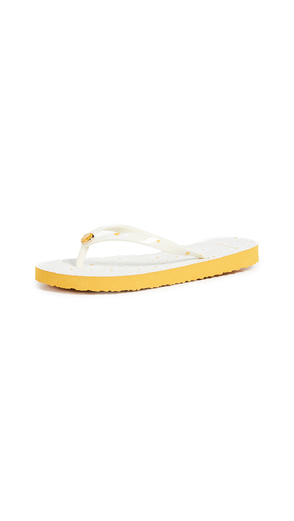 649285aed888 Tory Burch Printed Thin Flip Flops In Daisy Combo B Daisy
