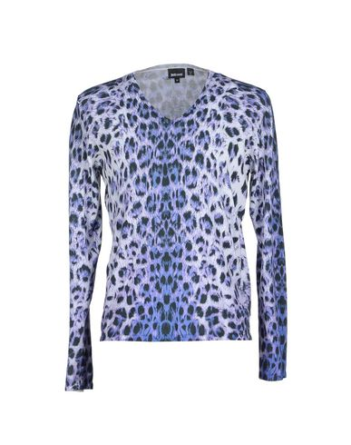 Just Cavalli Sweaters In Lilac