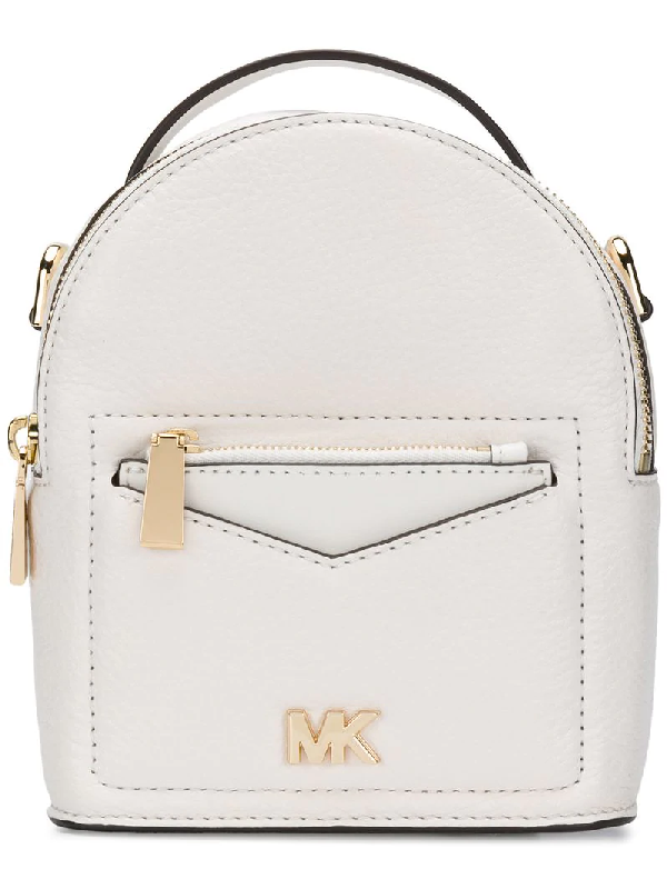 4987ebc256891a Michael Michael Kors Jessa Extra Small Backpack - White | ModeSens